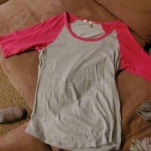 Pink and Grey shirt